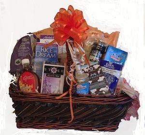 Gluten free breakfast lunch basket feeling good natural wellness gluten free breakfast lunch basket negle Gallery