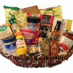 Gluten free breakfast lunch basket feeling good natural wellness gluten free dinner basket negle Gallery