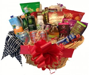 Natural Snacks & Beverages Basket